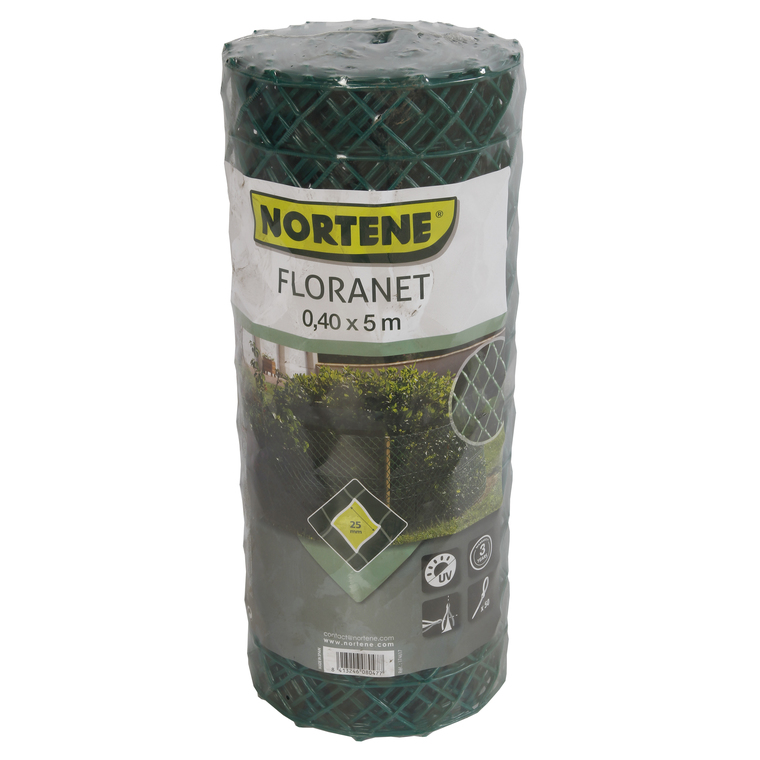 Grillage Floranet, coloris vert, H 40 cm 308358