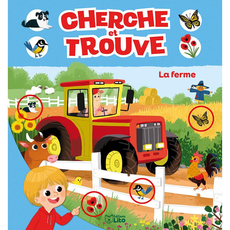 La Ferme Mon Tout Premier Cherche et Trouve 3 ans Éditions Lito 309543
