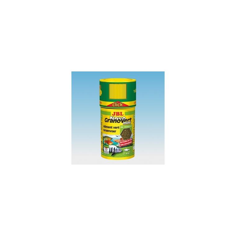 Aliment pour poissons Novograno vert mini. La boite de 100 ml 309552