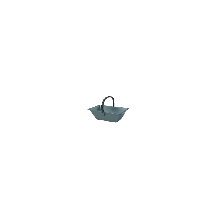 Panier de ramassage couleur vert métal – 18L