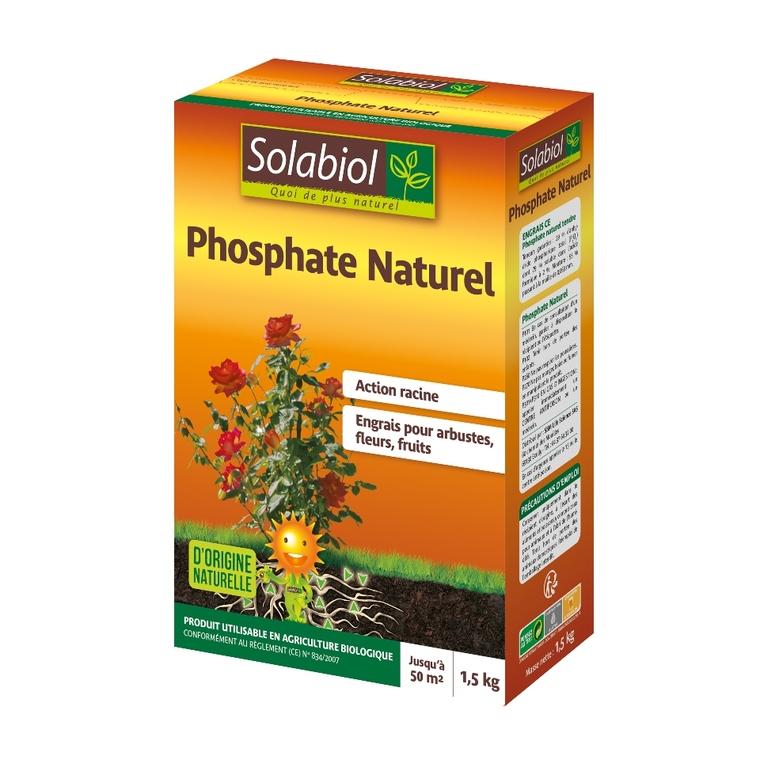 Phosphate naturel 1,5 kg 8,7x19,1x26,7 cm 309650