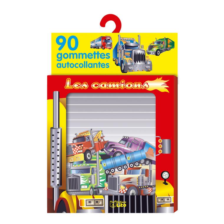 Les Camions Ma Boîte à Gommettes 3 ans Éditions Lito 309718