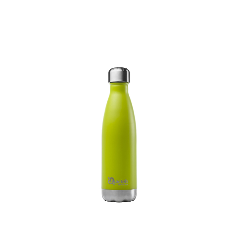 Bouteille isotherme inox Vert 500 ml H 27 cm 310391