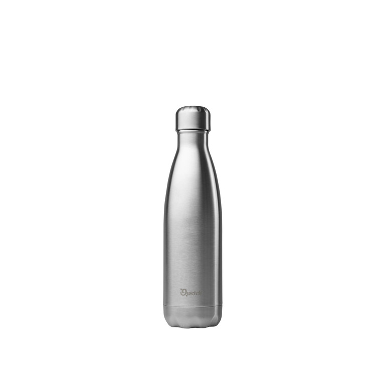 Bouteille isotherme inox Gris 500 ml H 27 cm 310393