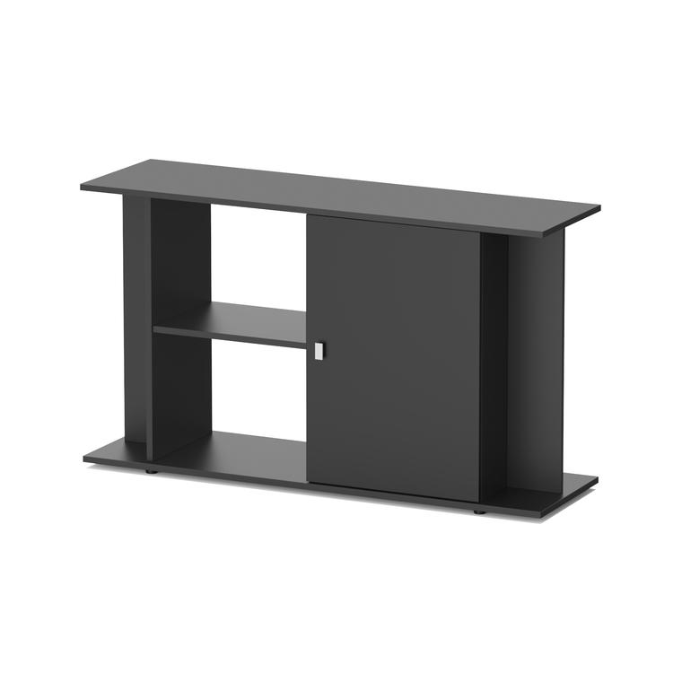 Meuble style LED 120 noir pour aquarium 120 x 40 x 70 cm 310523