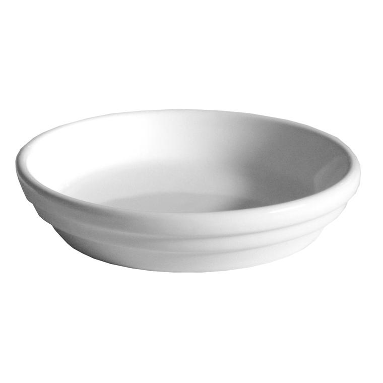 Soucoupe pot horticole blanc Ø 12 x H2,5 cm 310769