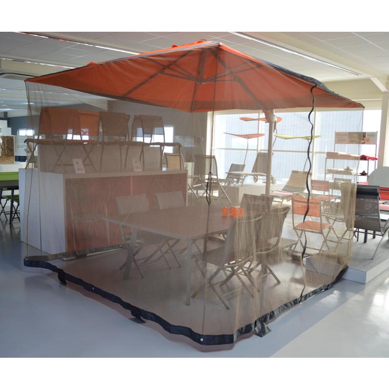 Moustiquaire pour parasol de 3 x 3 m 311172