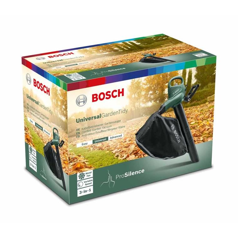 Aspirateur souffleur sans fil Bosch de 1800 w 655551