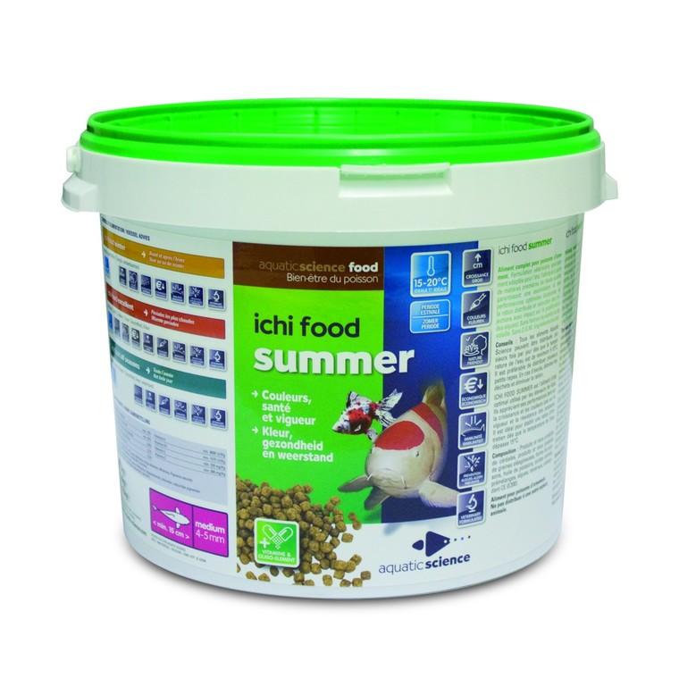 Nourriture poisson de bassin Ichi food summer medium 2 kg 319215