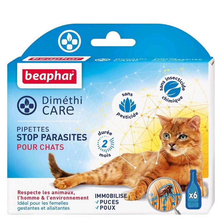 Pipettes pour chat DiméthiCARE 6 x 1 ml 321774