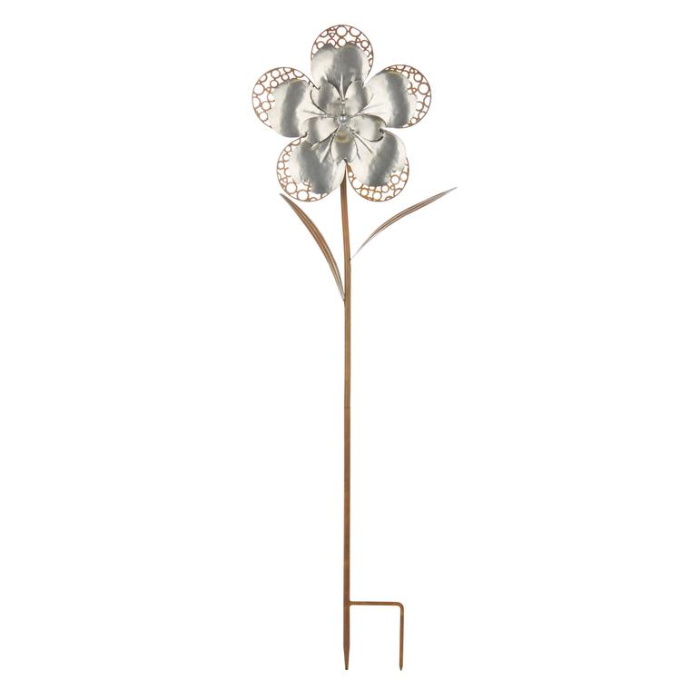 Fleur délicate Home to Garden rouille et acier 321821