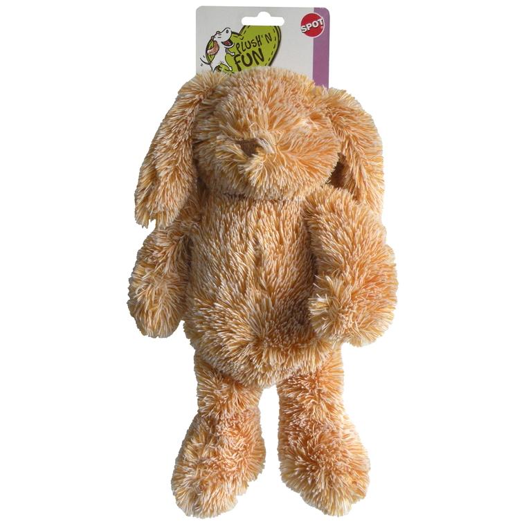 Jouet chien lapins calins beige spot 32cm 323275
