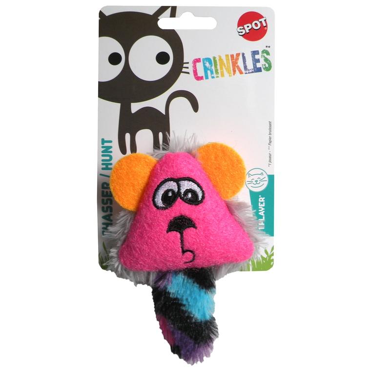 Jouet pour chat Catnip crinkle face cat toy 323654