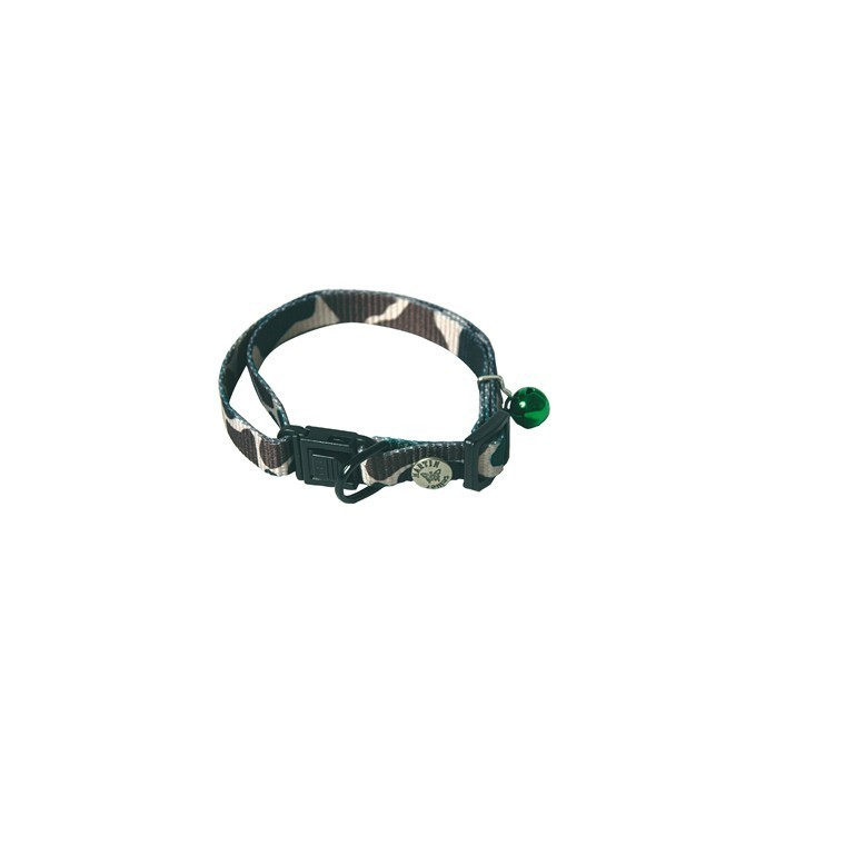 Collier chat 25/35cm Cat'mouflage 10mm
