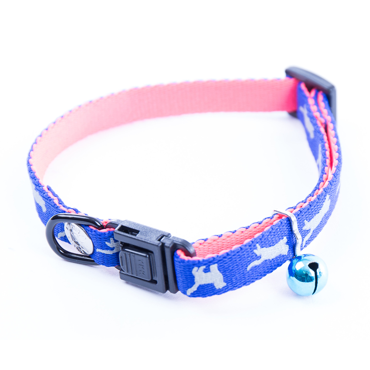 Collier pour chat Cat Bi-color bleu 323797
