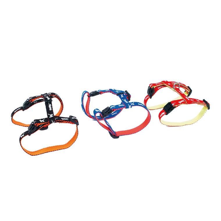 Harnais Cat Bi-color pour chat coloris rouge 323855