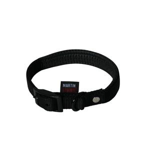 Collier chien confort 25mm / 65cm noir