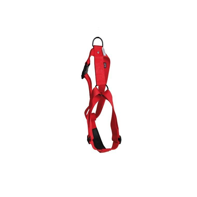 Harnais nylon rouge 90/110cm Martin Sellier