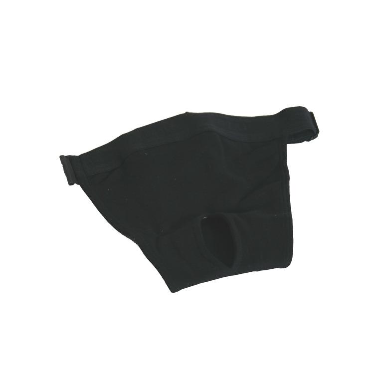 Slip hygiénique noir pour chien 32/39 324528
