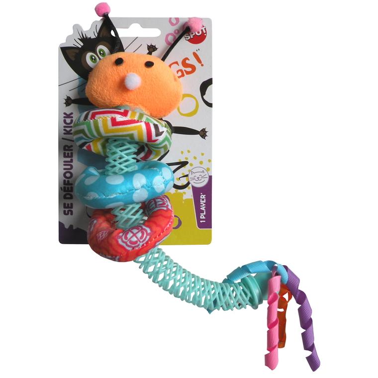 Jouet pour chat Catnip huggy worm cat toy 325583