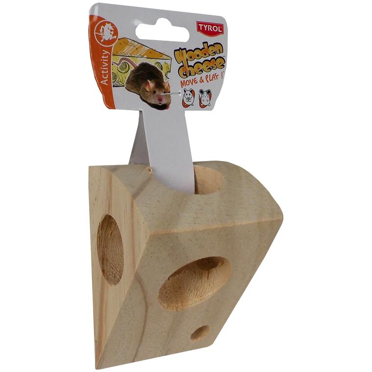 Morceau de fromage en bois pour rongeurs 325629