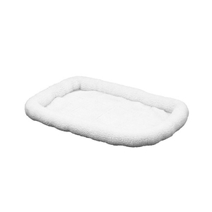 Coussin chien Snoozzy Blanc 45 x 35 cm