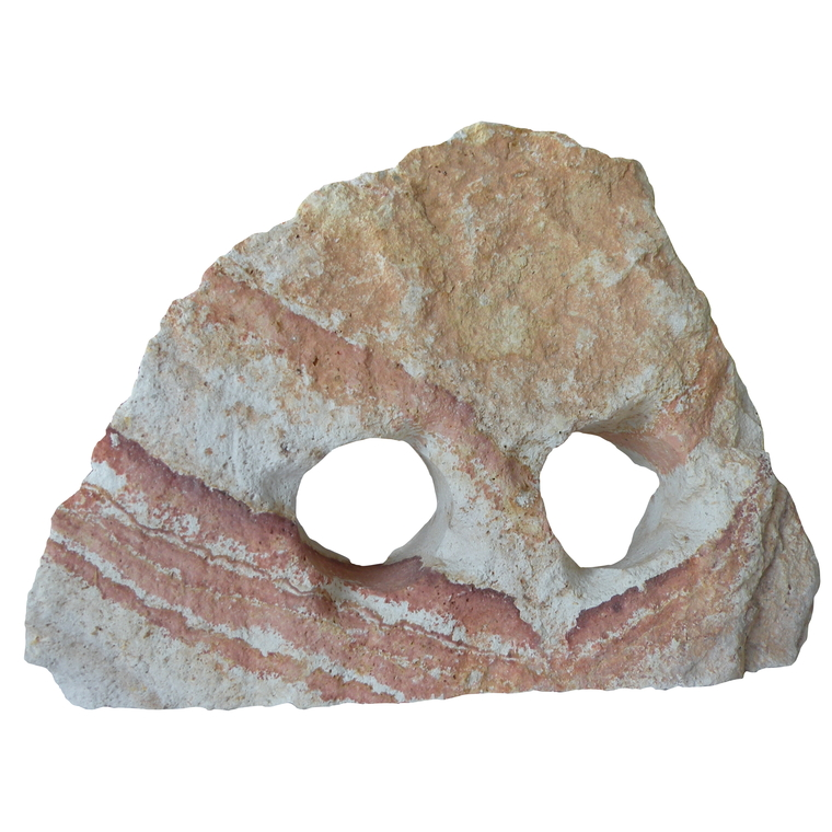 Pierre raimbow avec 2 trous 835699