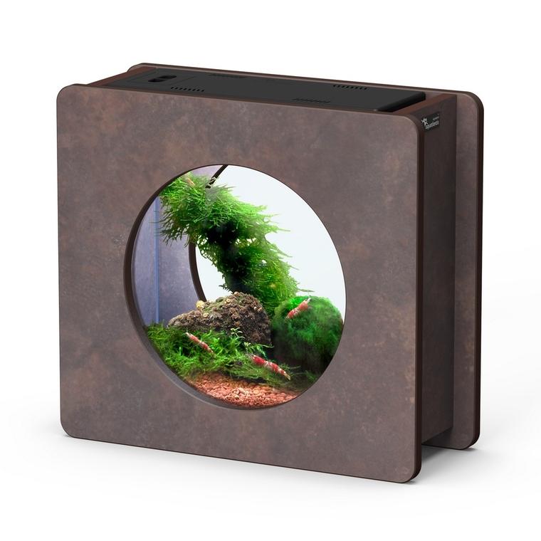 Aquarium nano fashion vision L brun oxyde 46,6 x 14,8 x 32,5 cm 332249