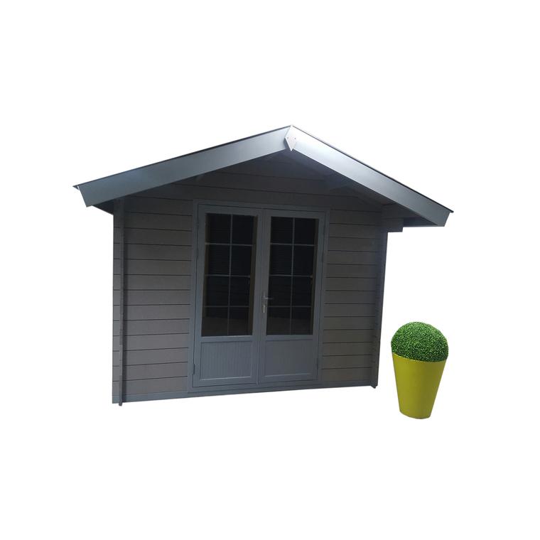 abri de jardin composite chamonix 13 m rangements du. Black Bedroom Furniture Sets. Home Design Ideas