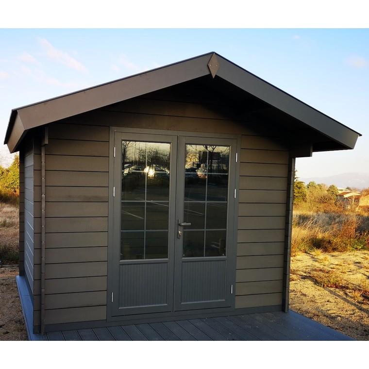 abri de jardin composite chamonix 13 m abris de jardin. Black Bedroom Furniture Sets. Home Design Ideas