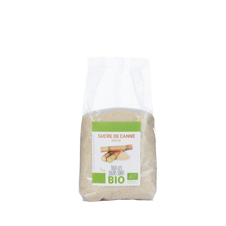 Sucre de canne blond Bio 1 kg 334827