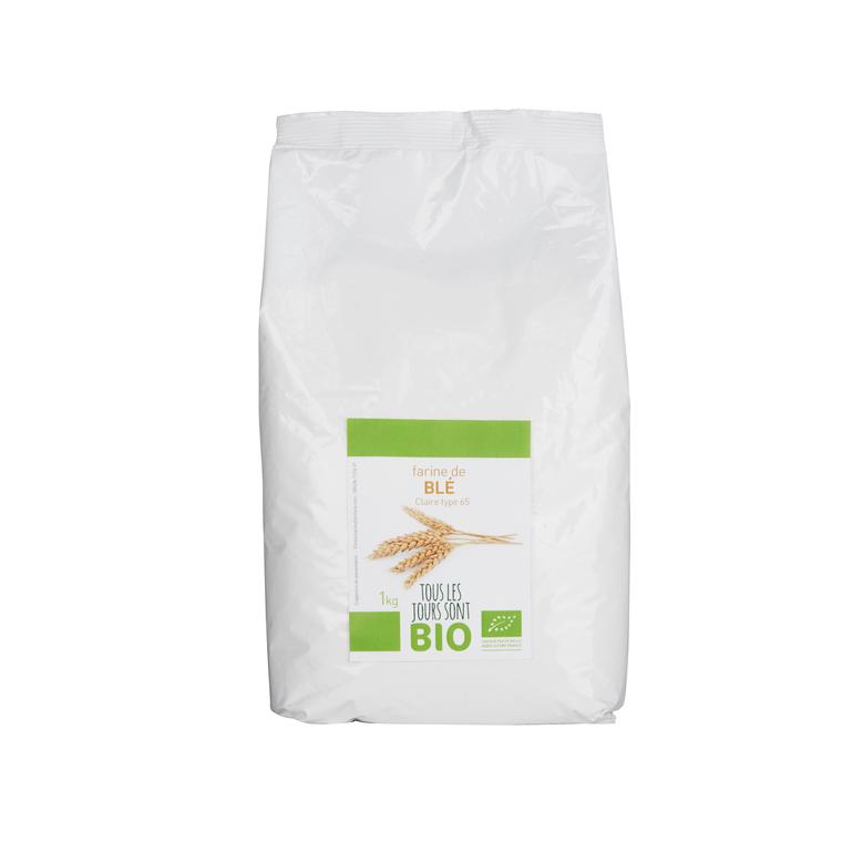Farine de blé T65 Bio 1 kg 334828