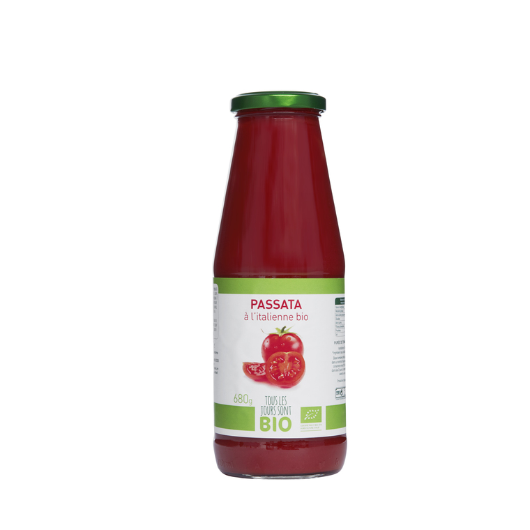 Coulis de tomate Bio 680 g 334834