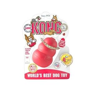 Jouet chien Kong classic large rouge 10cm