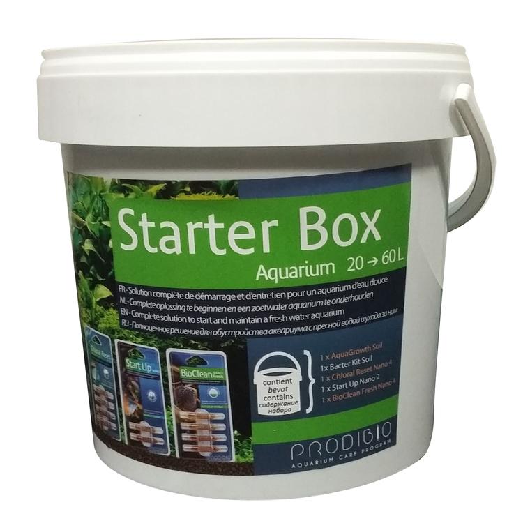 Kit de démarrage Starter Box Growth pour aquarium de 20 à 60 litres 335086
