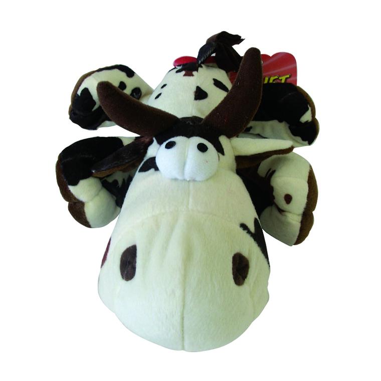 Peluche vache renifleuse - 25 cm 33515