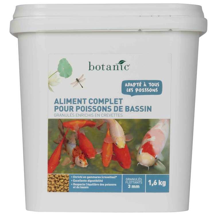 Nourriture pour poissons de bassin Botanic 1600 g 335541