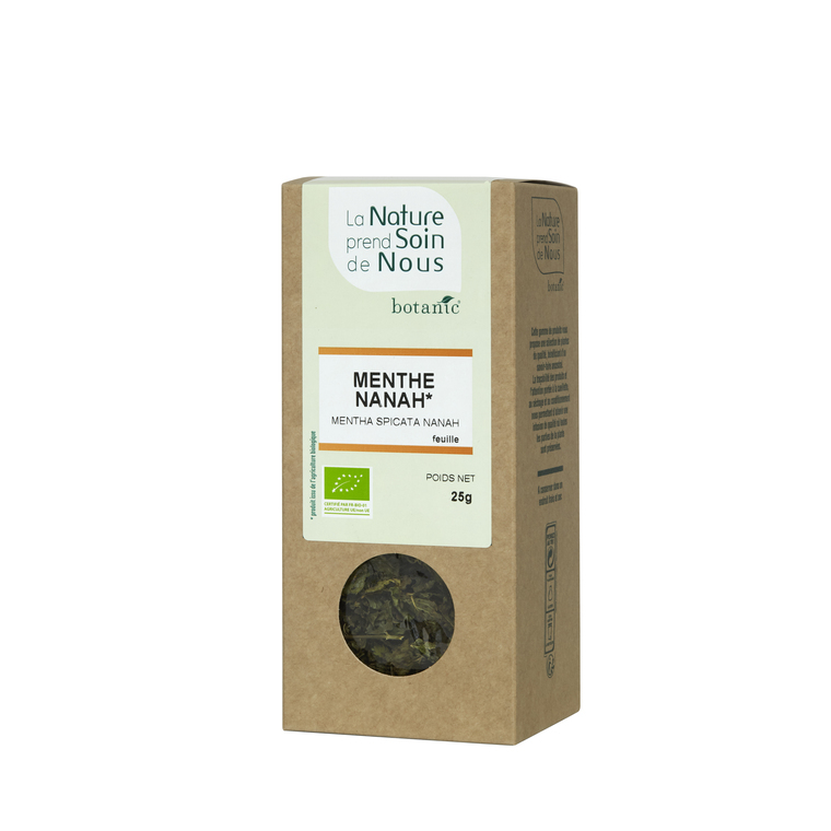 Menthe nanah feuille pour infusion 335551