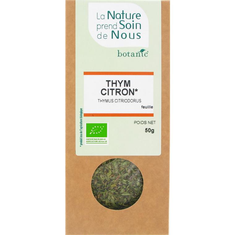 Thym citron feuille pour tisane pour infusion 335565