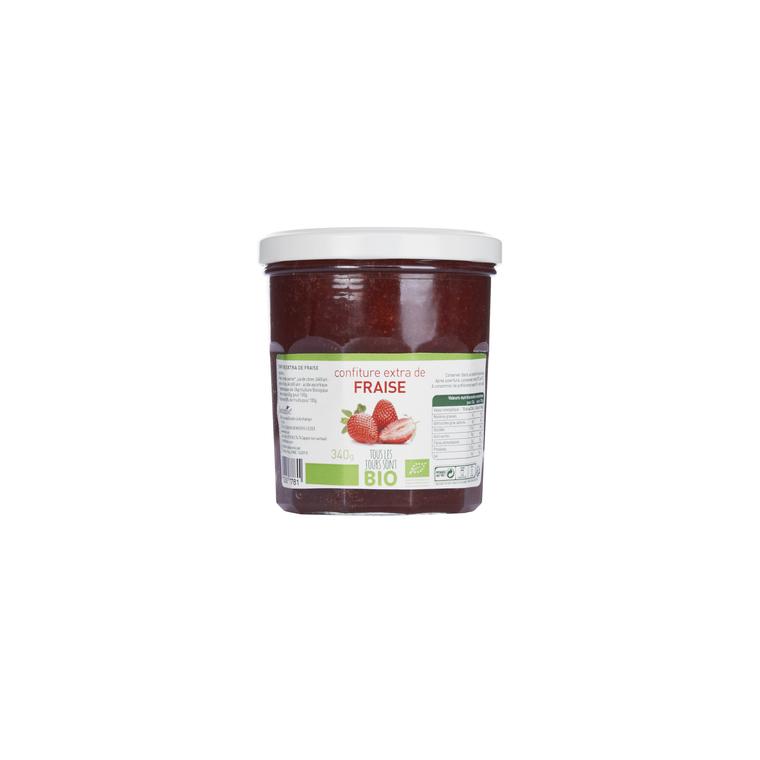 Confiture de fraise Bio 340 g 335778
