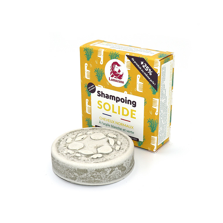 Shampoing solide cheveux normaux 55 gr 340939