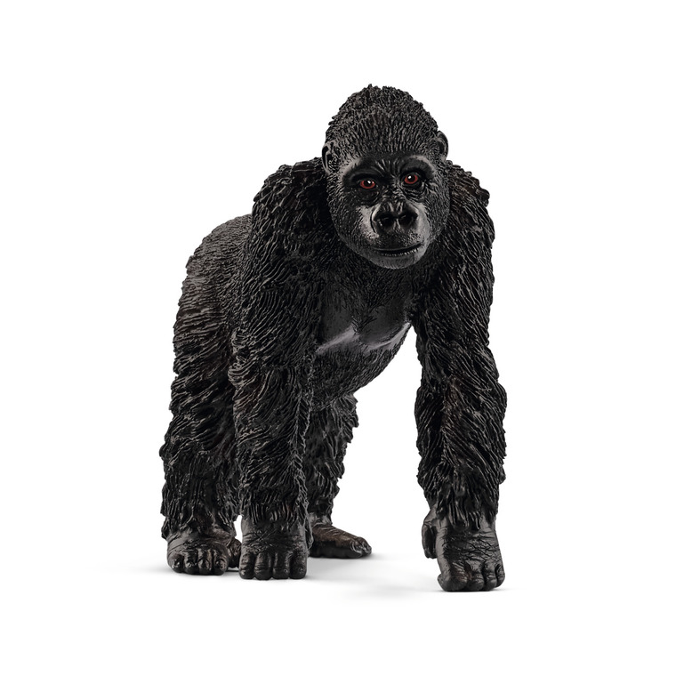 Figurine Gorille femelle Série Animaux sauvages 3,9x7,7x6,7 cm 341162