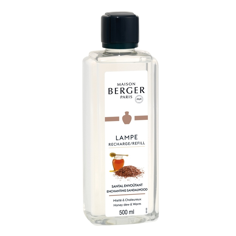 Parfum Santal envoûtant pour lampe Berger 500 ml 341225