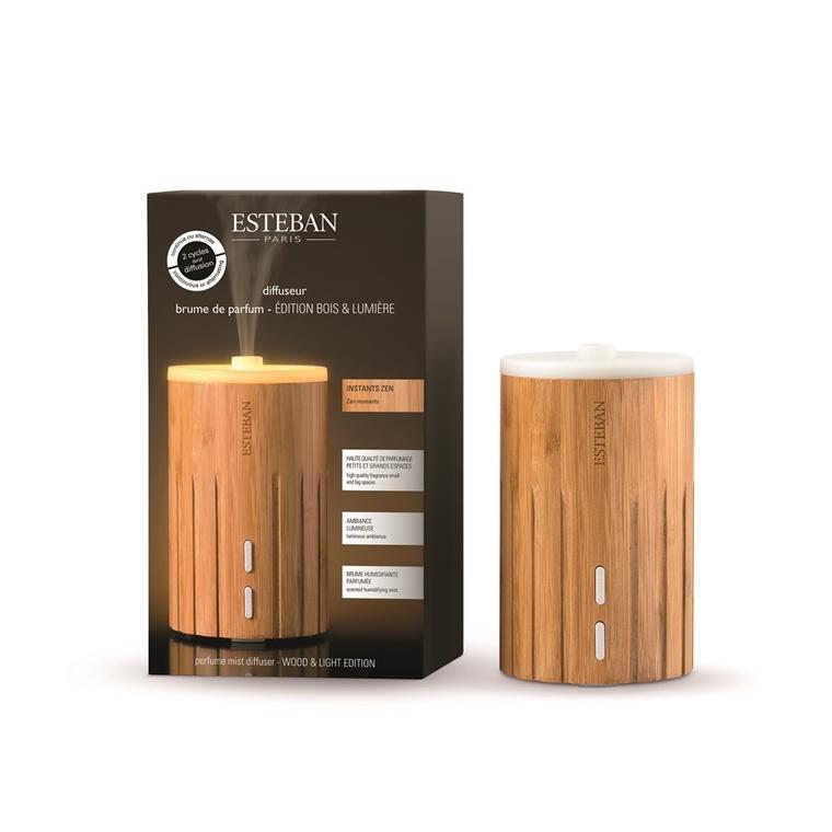 Diffuseur de brume de parfum en Bambou - édition bois & lumière 341946