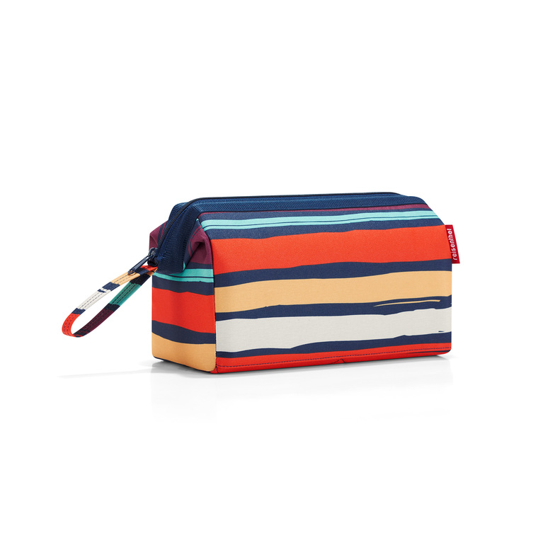 Trousse à toilette Travelcosmetic rayures multicolores 26x18x13,5 cm 342370