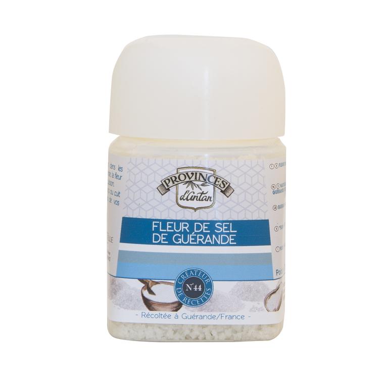 Fleur de sel de Guérande pure et naturelle bio 70 g 342741