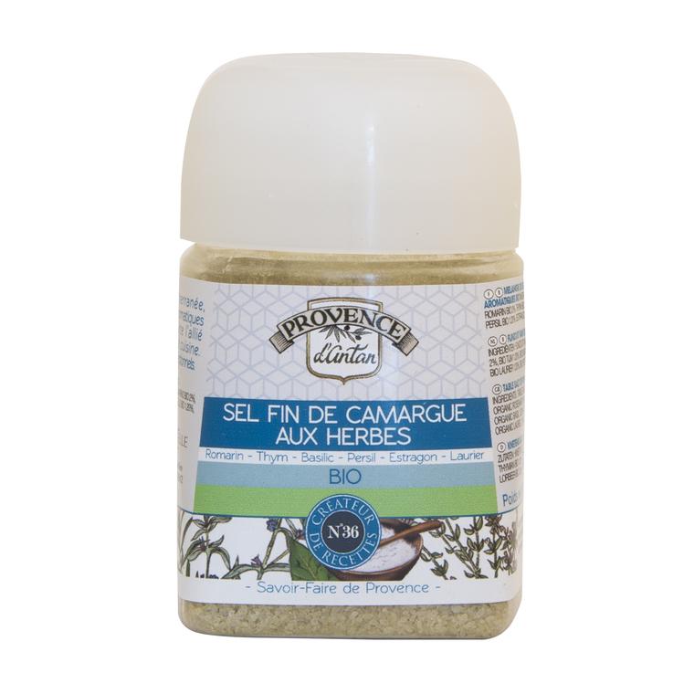 Recharge de sel fin de Camargue aux herbes bio 90 g 342744