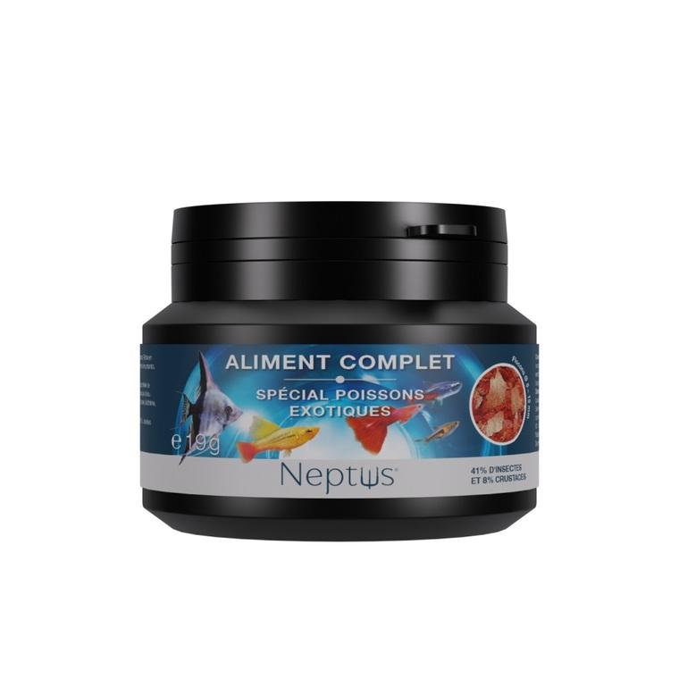 Aliment complet (flocons) pour poissons exotiques - Boîte 100 ml 343001