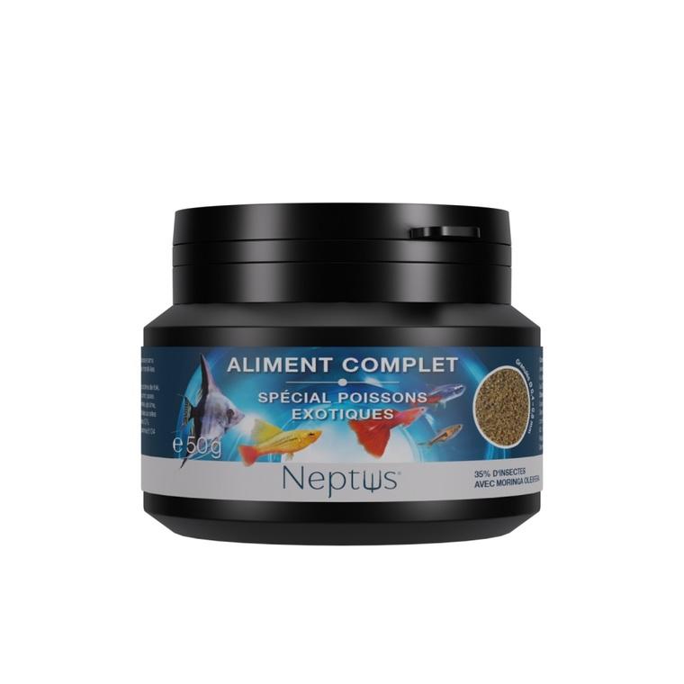 Aliment complet (granulés) pour poissons exotiques - Boîte 100 ml 343004