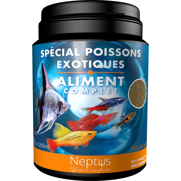 Aliment complet (granulés) pour poissons exotiques - Boîte 1000 ml 343006
